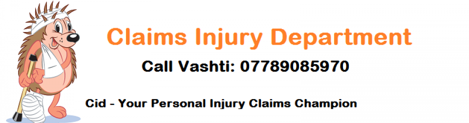 Claims Injury Department (Cid)